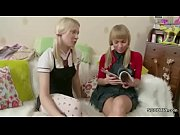Picture Petite Sister show her Step-Sister how to Fu...