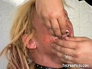 Picture Bizarre worms humiliation and filthy mess de...