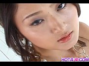 Picture Japanese AV Model gets big fuck after blowjo