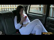 Picture Lovely Sasha gives the driver a blowjob for...