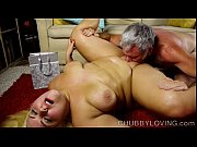 Picture Beautiful big belly blonde BBW gets blasted...