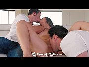 Picture MyVeryFirstTime - Shane Blair takes 2 cocks...