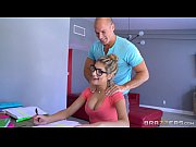 Picture Brazzers - Sexy nerd August Ames needs a stu...
