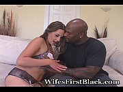 Picture Wife Prepares For Her First Black