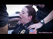 Picture Nasty and busty police whores fucked hard by...