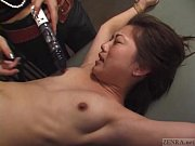 Picture CFNF Japanese lesbian BDSM with petite woman...