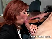 Picture Frustrated mature enjoys young dick
