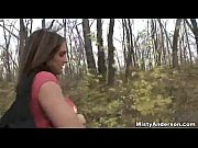 Picture Misty Anderson- Blowjob in the woods