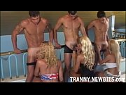 Picture My first tranny gangbang was so much fun
