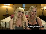 Picture Busty blonde tranny anally fucks blonde babe