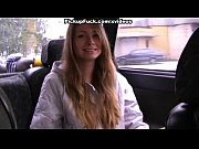 Picture Young blonde sucking in car
