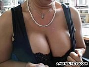 Picture Busty amateur Milf home action with facial