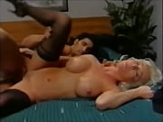 Picture Blonde big-tits beauty enjoys big cock and f...