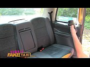 Picture Female Fake Taxi outdoor pussy licking and f...