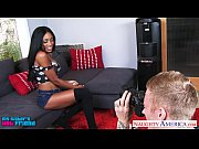 Picture Busty ebony Anya Ivy suck and fuck a big dic