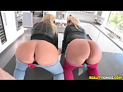 Picture Reality Kings - Two hot blondes share cock