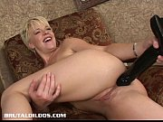 Picture Blond Young Girl 18+ fills her asshole with...