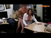 Picture Horny busty woman fucked in the backroom for...