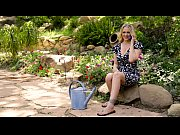 Picture Julia Ann's special gift for her step d...