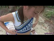Picture Young Girl 18+ cheerleader gets mouth fucked