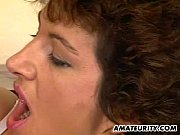 Picture Mature amateur wife homemade threesome with...