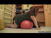 Picture Big booty plumper seduces fitness trainer