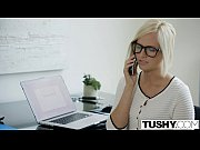 Picture TUSHY Hot Secretary Kate England Gets Anal f...