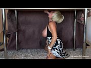 Picture Busty Blonde MILF Sucks And Swallows Cum