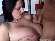 Picture Beautiful busty BBW brunette is a very hot f...