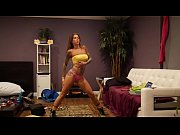 Picture Felicity Feline Dancing and Yoga flexible ta...