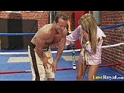 Picture Busty Francesca Felluci learns about fightin...