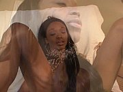 Picture Black lesbian does interracial sex with brun...