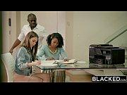 Picture BLACKED Petite Riley Reid Tries Huge Black C...