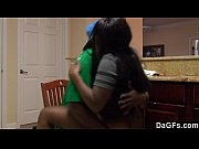 Picture Amateur black couple fucking in the kitchen