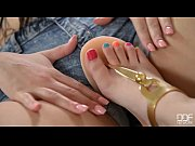 Picture Anina Silk and Taylor Sands Lesbian foot fet...
