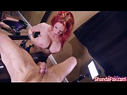 Picture Shanda Fay Sucks Cock for Facial on her Knee...