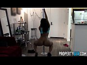 Picture PropertySex - Cute black tenant busted for s...