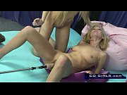 Picture Carlie Banks on the orgasmatron sex machine...