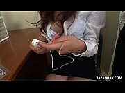 Picture Asian office girl getting toyed by her man