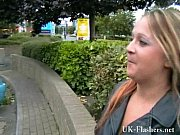 Picture Busty milf Ginas public nudity and english f...