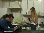 Picture BritishTeen Daughter seduce father in Kitche...