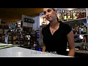 Picture Real amateur blondie barmaid Lenka nailed fo...