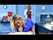 Picture Young Girl 18+ nurse and MILF doctor threeso...