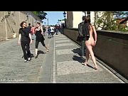 Picture Crazy babe Rossa naked on public streets