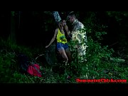 Picture Eurobabe punished in outdoor roughsex aciton