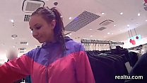 Exceptional czech nympho gets seduced in the mall and penetrated in pov