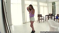 ShesNew Petite tight pussy teen pounded