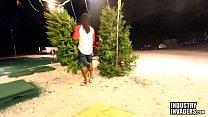 Jayla Foxx Fucks in Xmas Tree Lot