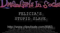 Felicia's Stupid Slave - www.clips4sale.com/898...