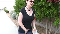 Sybil Hawthorne full bladder and jeans wetting